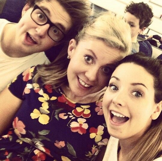Marcus, Luis and Zoella