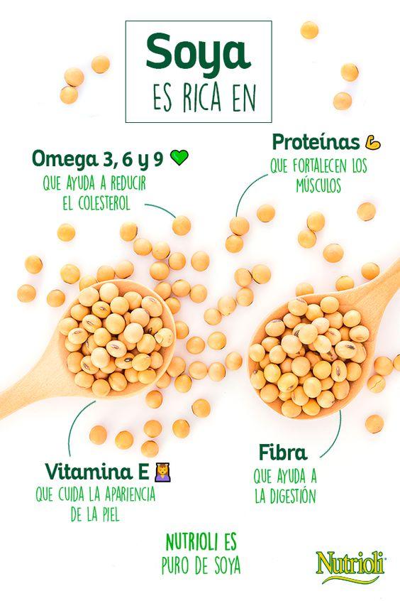 ¡La #soya es un alimento muy #saludable! Descubre sus beneficios dando clic a la imagen.