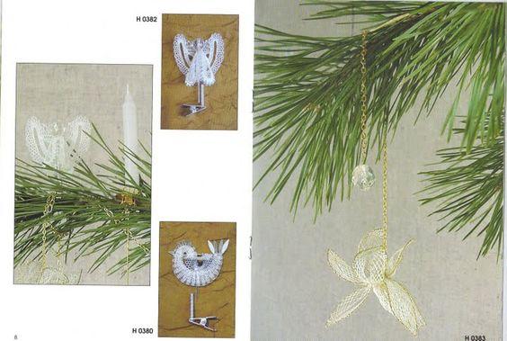 renda de bilros / bobbin lace Natal / Christmas