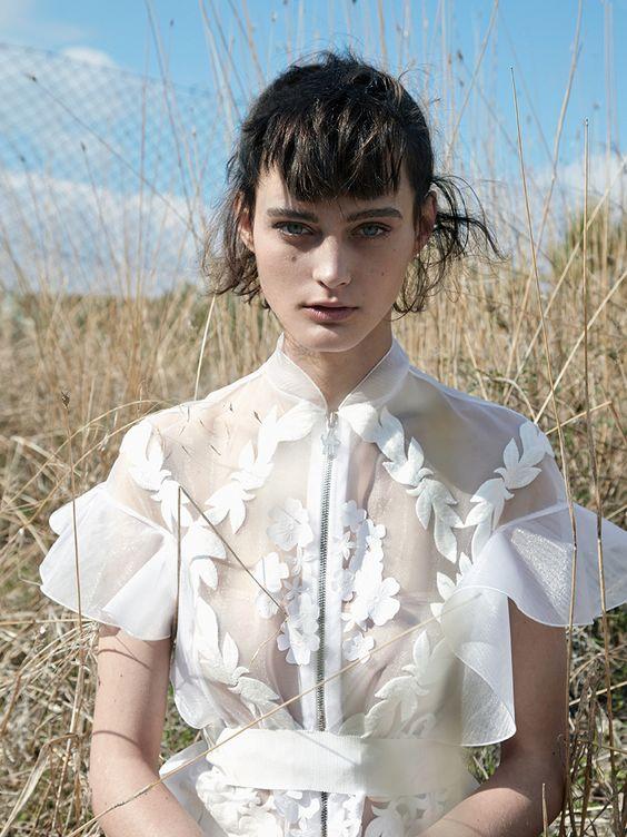 sibui nazarenko by thomas krappitz for elle germany february 2016 | visual optimism; fashion editorials, shows, campaigns & more!
