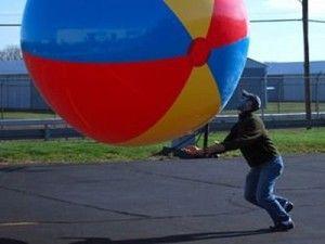 12 foot beach ball!