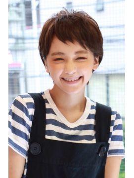 【+~ing  deux】シンプルショート★五島夕夏【三橋歩】