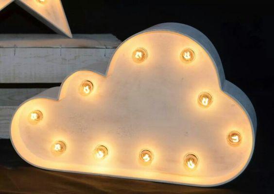Nube luminosa !: