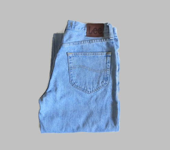 Lee Denim Mens Jeans, Light Wash, 30x34 Relaxed Fit #Lee #Relaxed ...
