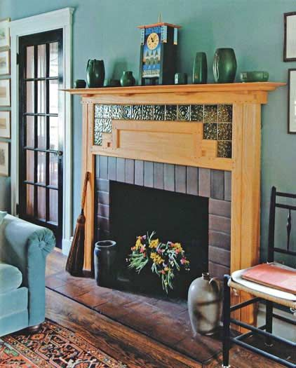 Craftsman Style Fireplace Great Room Pinterest Fireplace Tiles Tile Design And Fireplaces