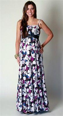Everly Grey Poppy Maternity Maxi Dress - Worn by Ali Landry