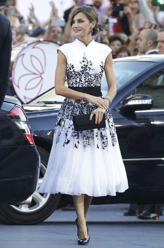 اناقة ليتيزيا ملكة إسبانيا 69378e5e801a6d36892e