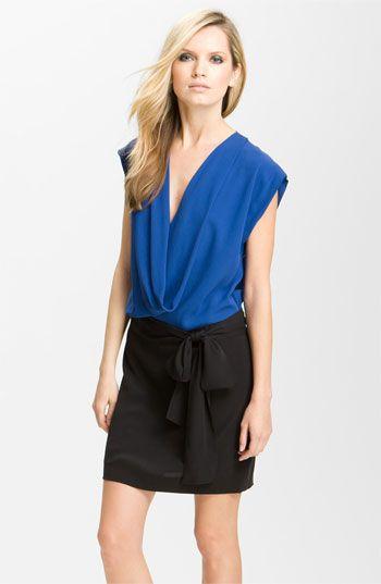 Diane von Furstenberg 'Reara' Colorblock Dress (Online Exclusive) available at #Nordstrom