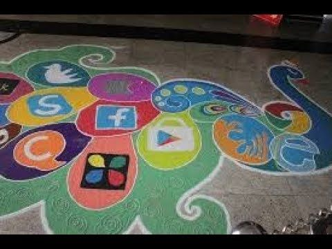 Social Awareness Rangoli Designs Rangoli Designs Social Awareness Design Competitions