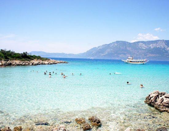 Playa de Cleopatra, isla de Sedir, Turquía