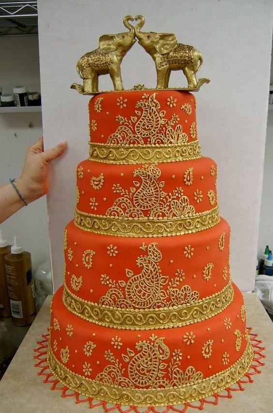 Mehndi Cakes London : Beautiful bruiloft and rode indiaan on pinterest