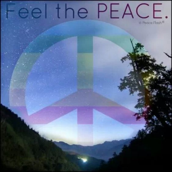 Feel the Peace...