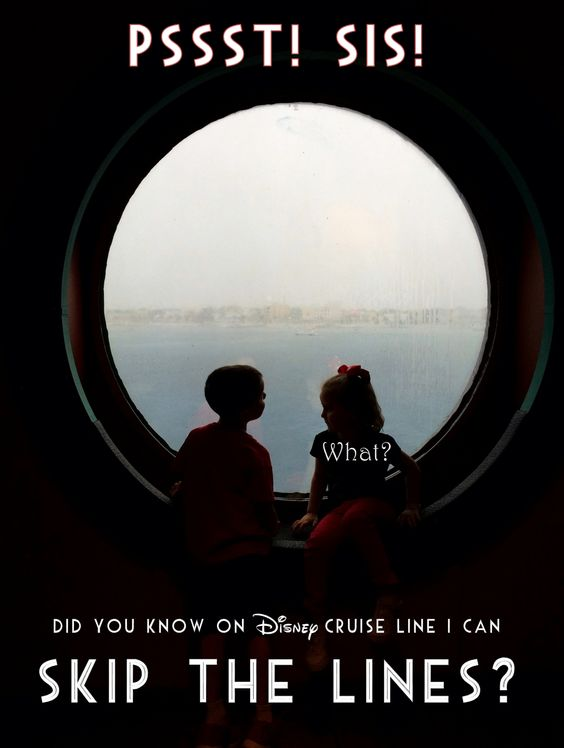 One of the biggest advantages of a Disney Cruise Line vacation is that you can meet the princesses, enjoy water slides and soak up the Disney magic almost without waiting in lines. Almost. What if you wanted to avoid almost every crowd or line on your fantasy vacation? Wow! Can I get my other …