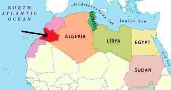تسريب وتيقة فرنسية نادرة يعود تارخها الى سنة 1962 تقر بمغربية منطقة تندوف Algeria Egypt Sudan