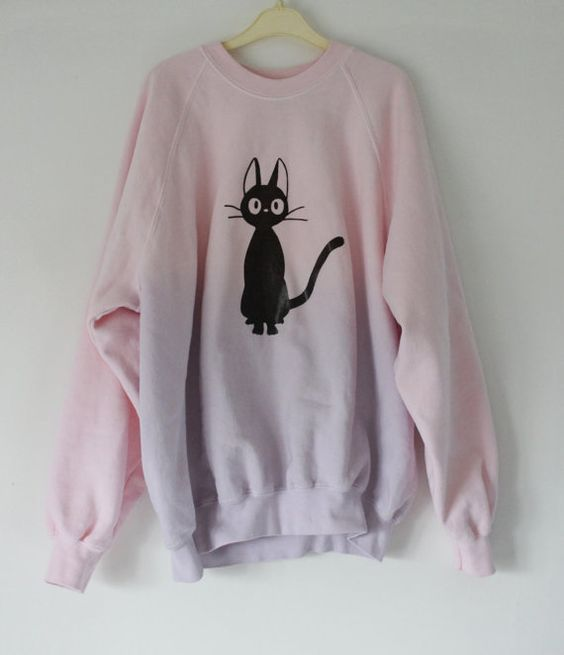 Pastel Sailor Moon or Studio Ghibli Custom Sweater. £25.00, via Etsy. JIJIIIIIIIII!!! :3