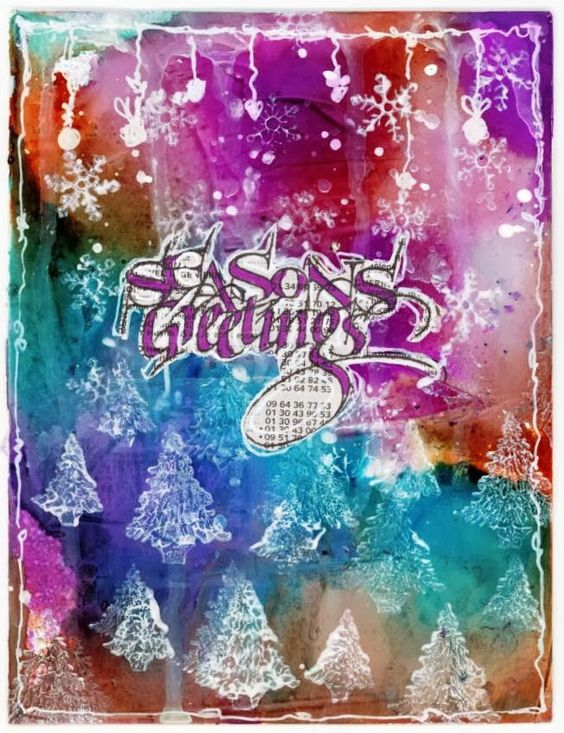 The Artistic Stamper Creative Team Blog: I feel it in my fingers, I feel it in my toooooes....visit http://titbelsoeur.eklablog.com