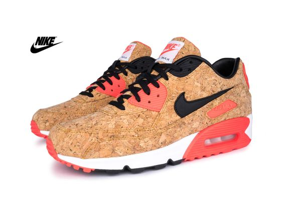 Nike Air Max 90 Anniversary Pack \u0026quot;Cork\u0026quot; - Bronze/Black-Infrared-