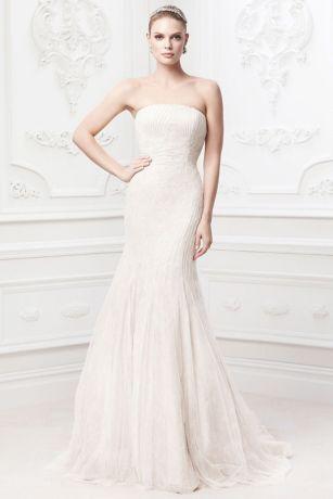 Truly Zac Posen Embroidered Wedding Dress - Davids Bridal