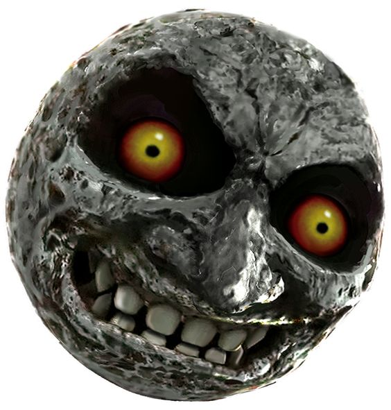 Majoras Mask Moon Giants Do your worst. ...