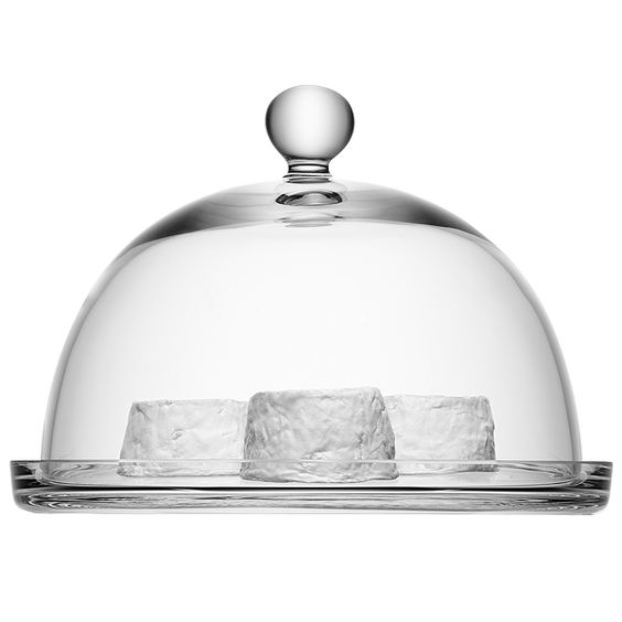 LSA Vienna Cake Dome and Plate 25cm | Cake Plates Cake Stands LSA Glassware - Buy at drinkstuff