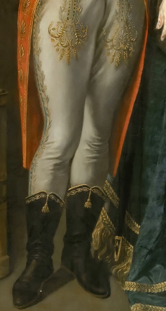 Jean-Baptiste Greuze -- Napoleon Bonaparte, First Consul, Standing before a View of Antwerp in 1803