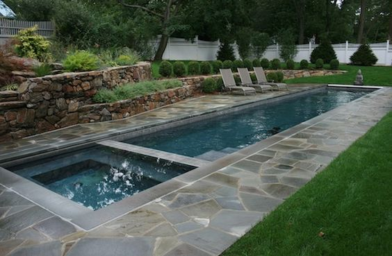 Create a backyard spa