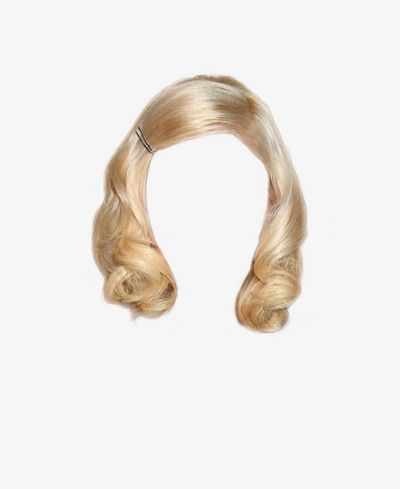 Western Style Short Blonde Hair Clips To Pull The Free Graphics Hair Png Short Blonde Hair Short White Hair