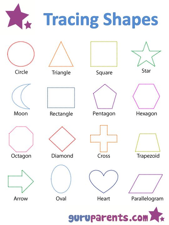 Shape Practice Worksheet for Kindergarten – Shape Worksheet for Kindergarten