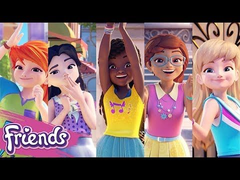 Looking For Spanish Cartoons On Netflix Check Out This Huge List Of Shows Available In Spanish With Something Fo Lego Friends Lego Girls Friends Wallpaper Hd