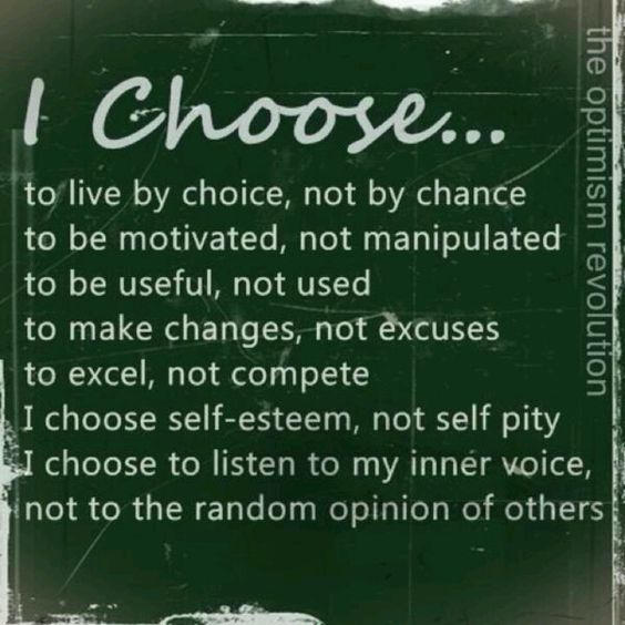 We choose the path we are on and whether or not it is worth fighting for. Anything is possible of you work hard enough and NEVER accept defeat.