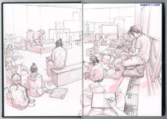 Gi's Perspective - The World through the eyes of Korean Artist Kim Jung Gi - Imgur