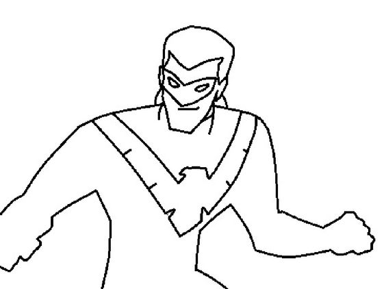 Coloring Nightwing And Lego On Pinterest Lego Nightwing Coloring Pages