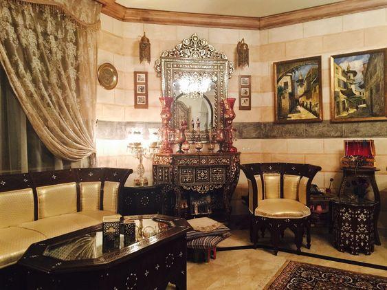 Damascene Furniture By Chenille Interiors Company In Saudi
