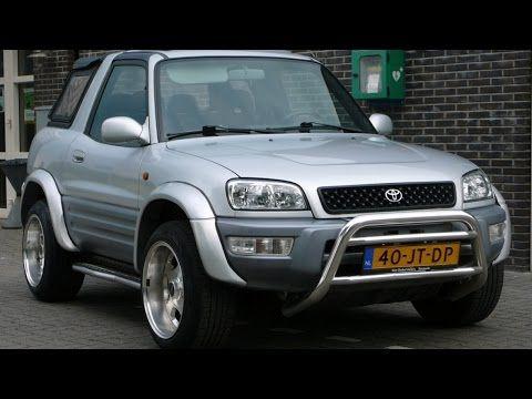 Toyota Rav4 Convertible 1998 2000 Youtube Toyota Rav4 Rav4 Toyota