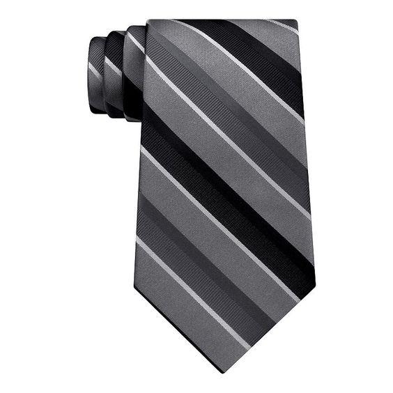 Men's Croft & Barrow® Patterned Tie, Black