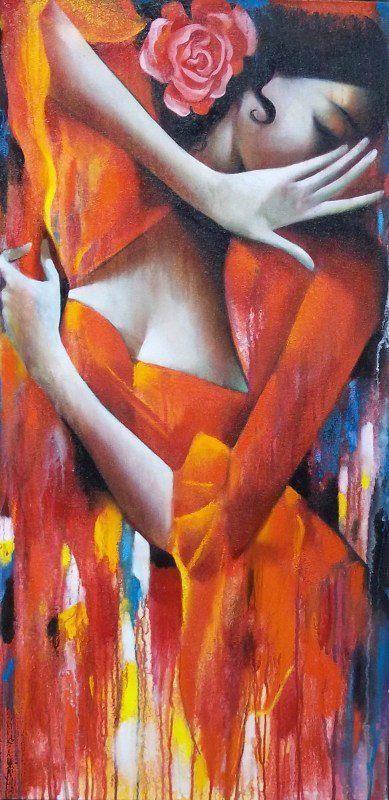 Oh yeah ... fiery flamenco dancing!  #ridecolorfully