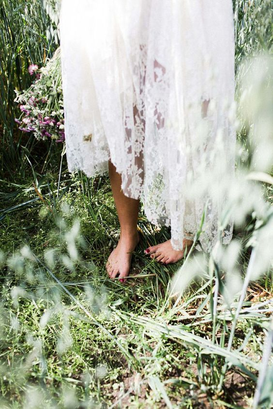 Whimsical Bohemian Bride | Enchanted Style