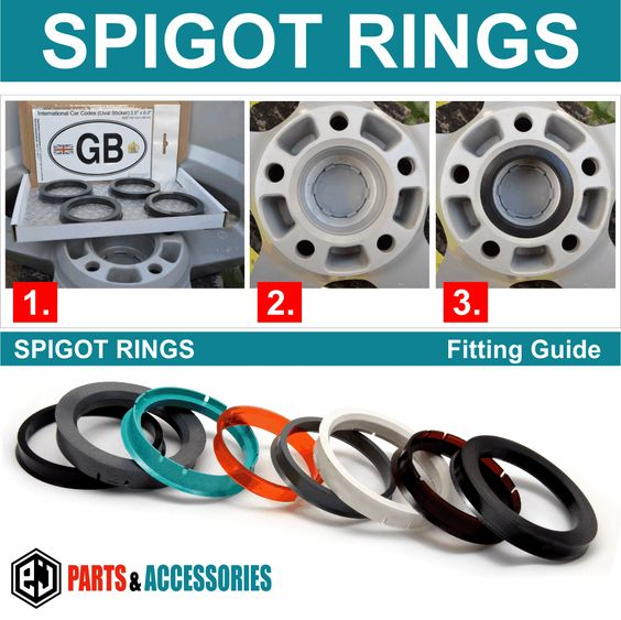 GIFT 76.0-70.6 SPIGOT RINGS SET OF 4 For Alloy Wheel Hub Centric wheel spacer