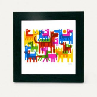 Urban Graphic Mini Framed Art Works available from No.31.