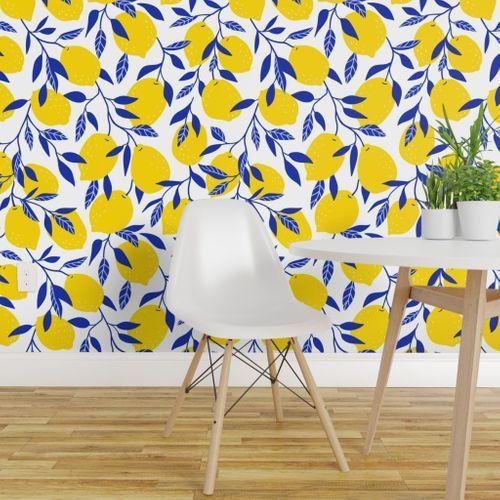 Bright Lemon In 2021 Fruit Wallpaper Wallpaper Perfect Wallpaper