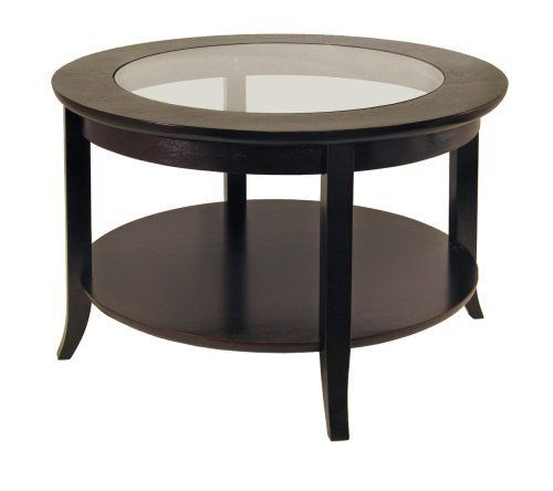 Winsome Wood Round Coffee Table Espresso Sale Coffee Tables Shop Buymorecoffee Com Coffee Table With Shelf Round Wood Coffee Table Coffee Table Wood