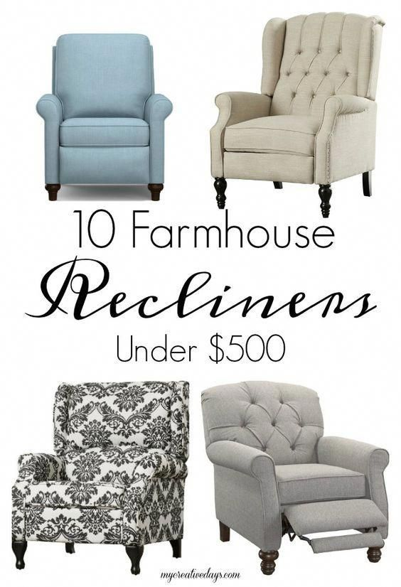 40+ Farmhouse recliner type
