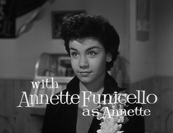 Annette had become so popular with mid Boomer kids by 1958, she got her own serial on the Mickey Mouse Club in 1958 titled Walt Disney Presents: Annette