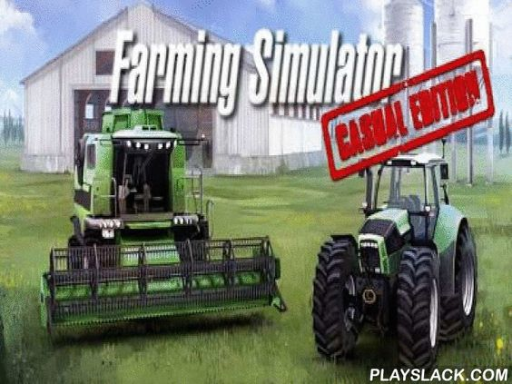 Farming Simulator  Android Game - playslack.com , Farming Simulator is quite a better passageway workplace simulator on Android platform. You have a possibility to become an actual creator and make your workplace to become a rich undertaking. You have to travel up the dirtiness, fertilize it, plant different atom plants, cultivate them and gather an output. You can purchase brand-new tool and brand-new fruits for the cash gained  for the crop selling. You also have to watch the values for…