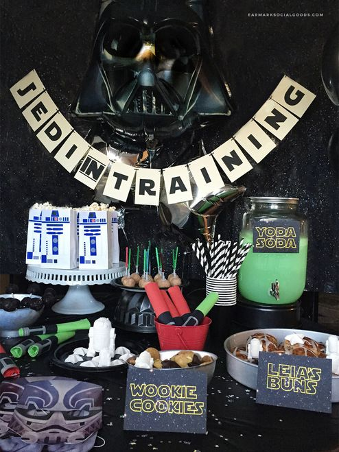 Jedi In Training Star Wars Themed Party Banner Party Banner