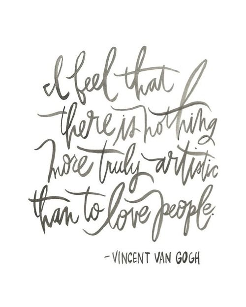 Van Gogh and love