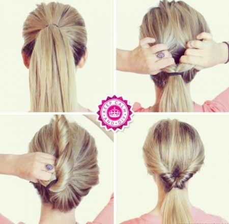 Penteados simples