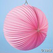 Pink paper lantern