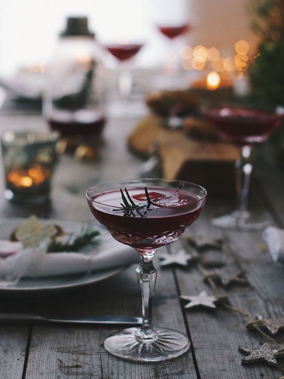 12 days of Christmas gin cocktails