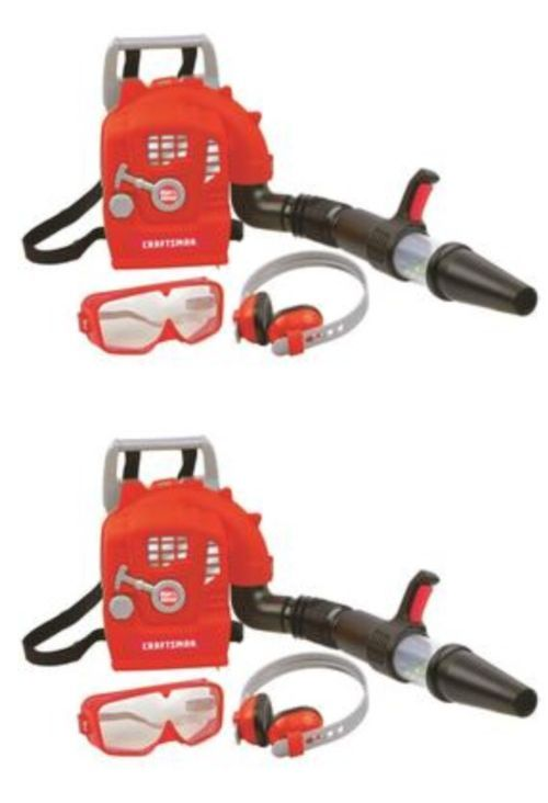 Strange Tool Sets 158747 Craftsman Toy Leaf Blower W Goggles And Machost Co Dining Chair Design Ideas Machostcouk
